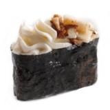 Суши Гункан с угрем и сл.сыром